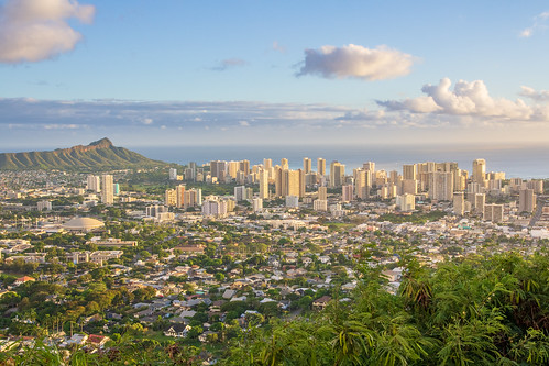 Downtown Honolulu from Tantalus Lookout | by daverodriguez