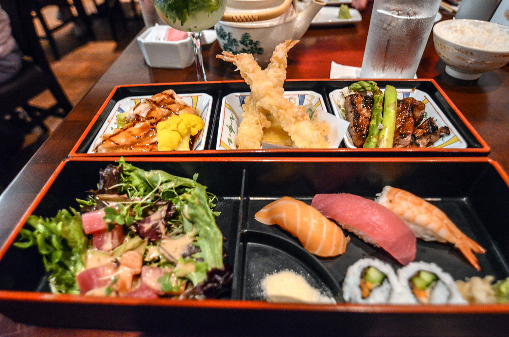 Tokyo Dining bento box Epcot