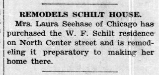 1934 - Seehase buys Schilt house on N Center - Enquirer - 27 Sep 1934 | by historic.bremen