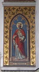 St Edmund (1890s, workshop unknown - Powell & Sons?)