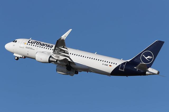 Airbus A320-214 D-AIWE Lufthansa