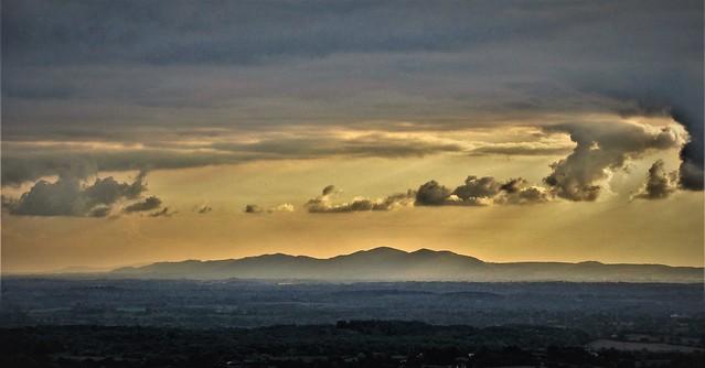 The Malvern Hills Sunset