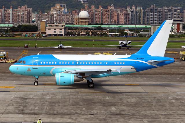 China Eastern Airlines Executive Air Airbus A318-112(CJ) Elite B-6186