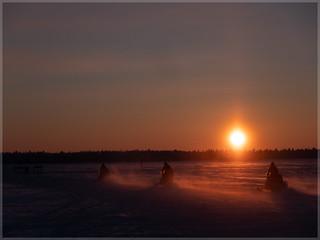 Sunrise in Finnland_92691   by uwe_cani