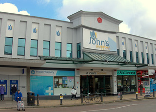 St Johns Shopping Arcade, Preston | by Tony Worrall