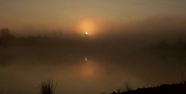Sun rise on a Misty morning