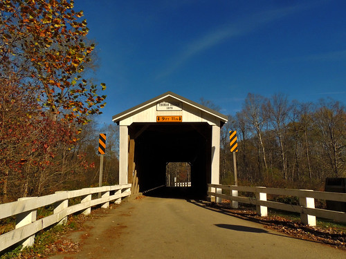 thomasford covered bridge outside transportation scenic scenery landscapes georgeneat patriotportraits neatroadtrips indiana county pa pennsylvania