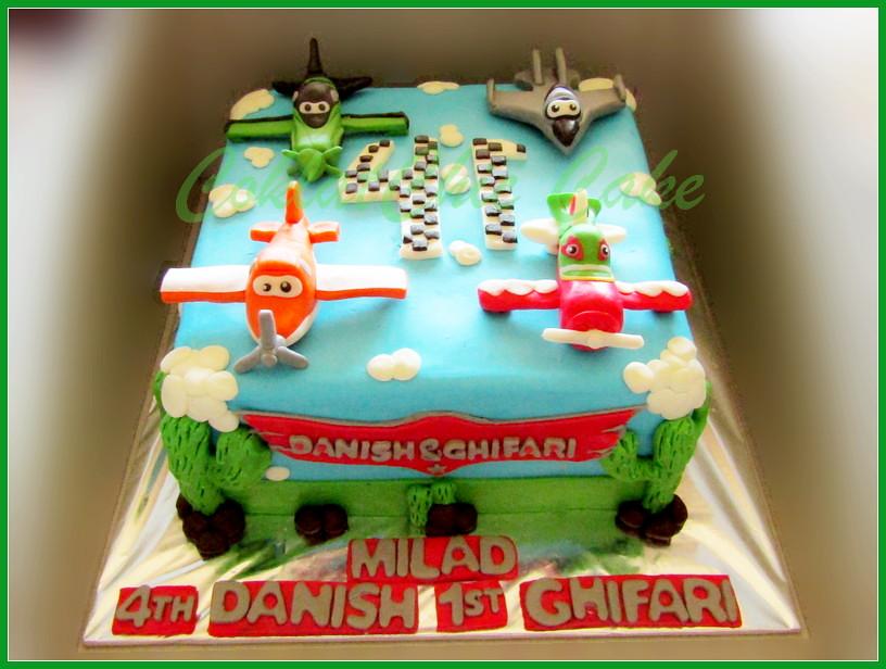 Cake Disney Planes 20 cm DANISH GHIFARI
