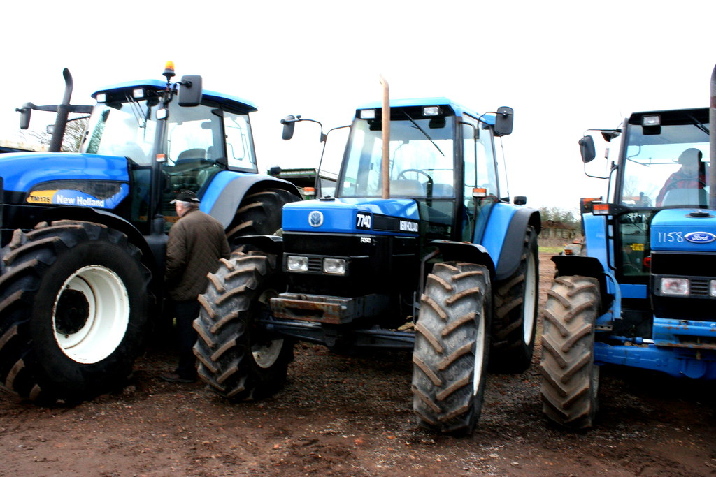 New Holland Ford >> New Holland Ford 7740 Tractor Cambridge Machinery Sale