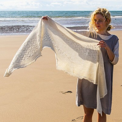 Seacote is a Free Pattern with purchase of The Fibre Company Meadow