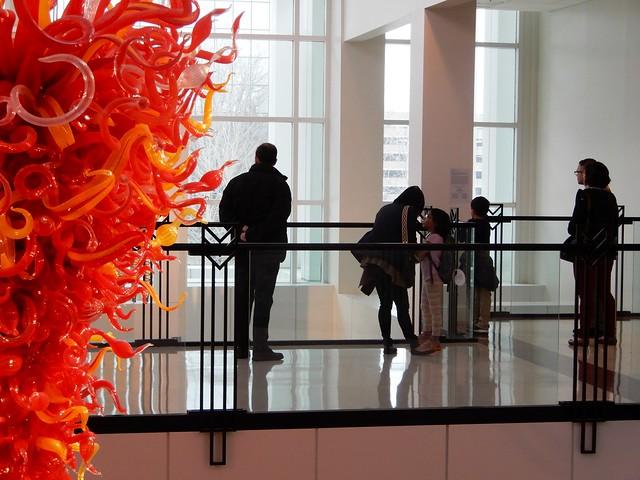 En el museo de arte