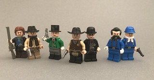 Even more Wild West figs | by BrickStudios