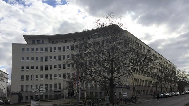 1930/35 Berlin Haus des Deutschen Versicherungskonzerns von Emil Fahrenkamp Hohenzollerndamm 174-177 in 10713 Wilmersdorf