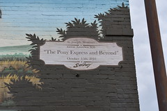 Info on Pony Express Mural