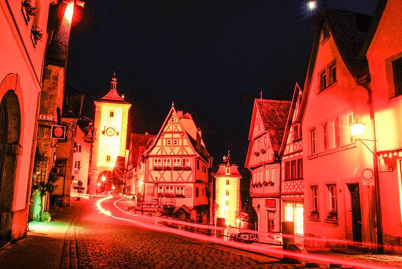 羅騰堡夜景 4 (2)