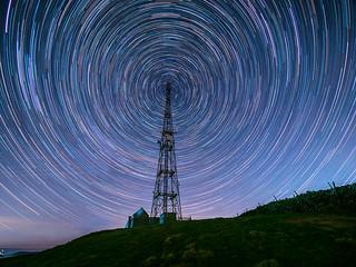 Bretton mast Star Trails