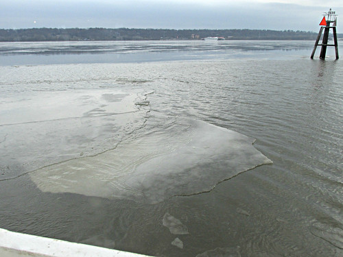 spiritofpeoria rivercruises sheetsofice illinoisriver rivers peoria il illinois scarysounds
