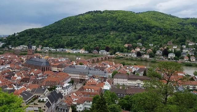 Heidelberg- Altstadt from Schloss