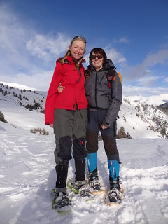 Me and Steffi, l'Alp du Pied | by Mary Loosemore