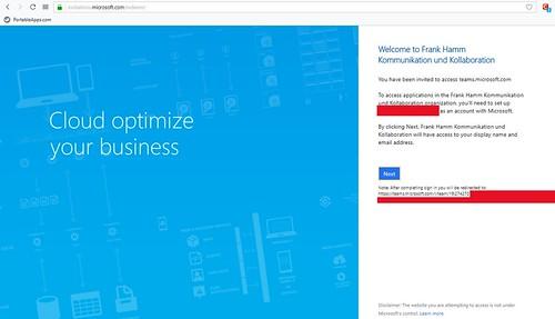 Microsoft Teams Gastzugang (4): Welcome to Frank Hamm KuK   by Frank Hamm