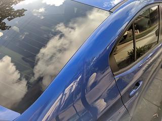 Subaru WRX STi, Burlingame.   Subaru VA (GJ) 4-door saloon