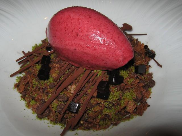 Sepia Forest Floor Dessert