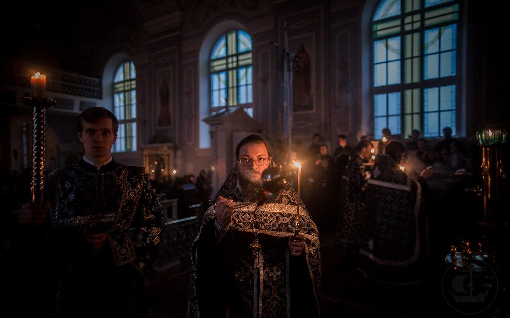 5 апреля 2018, Утреня Великой Пятницы / 5 April 2018, Matins of Holy Friday