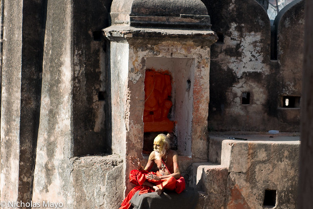 Holy Man At The Fort Shrine