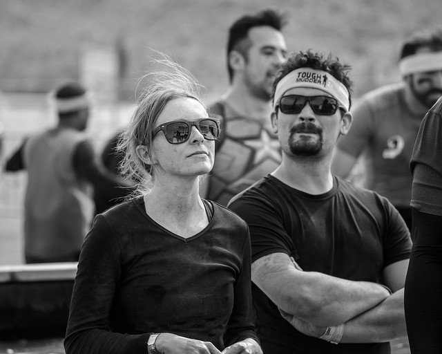 The Last Obstacle Contemplating the Accomplishment - Tough Mudder 2018