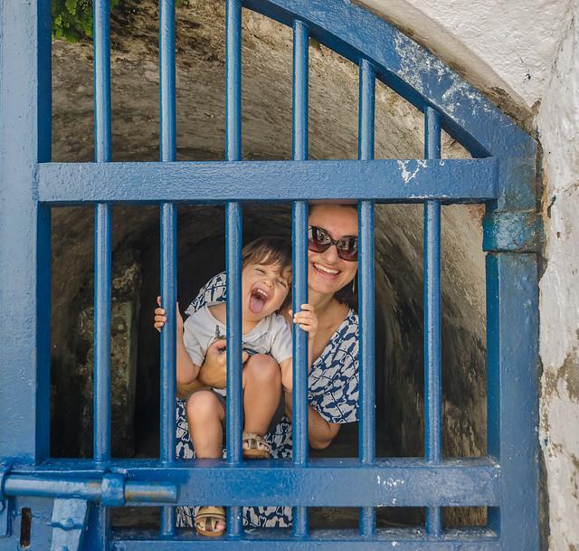 Joana e Diego na masmorra