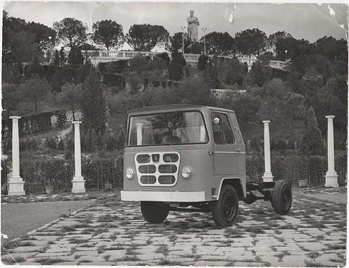 camió Nazar B 1500 quilos presentació Saragossa 1963