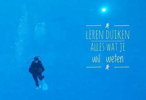 Leren duiken | by Laloe.be
