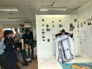 Drawing Session on BA (Hons) Contemporary Art & Design course