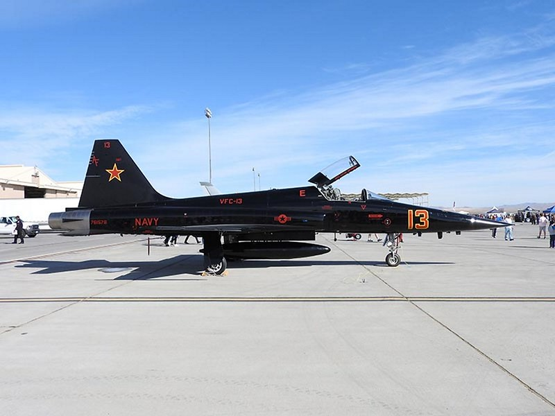 Northrop F-5N Tiger 'Black' 12
