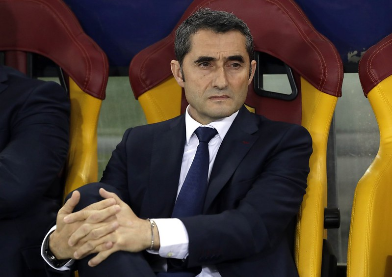 Ernesto Valverde。(達志影像資料照)