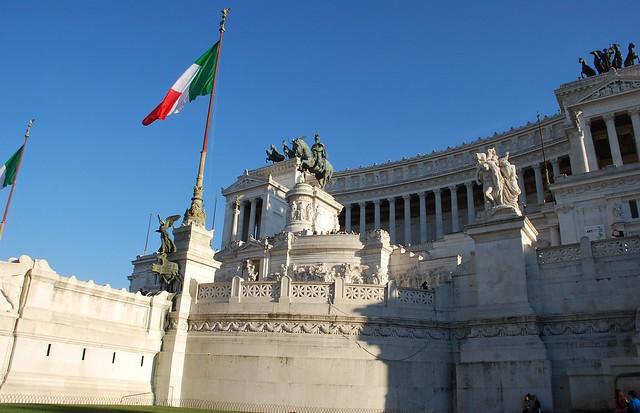 Monumento a Víctor Manuel II (Roma, Italia, 14-10-2017)