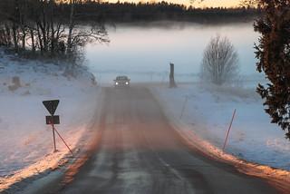 Sunset road   by RdeUppsala