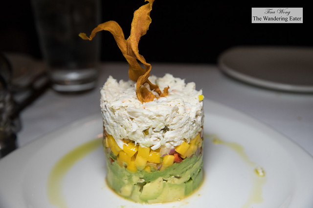 Crab, Avocado & Mango Stack