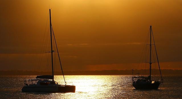 Fraser Island - Sunset (1) (F)