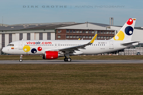 Viva-Columbia_A320_HK-5305-X_20190223_XFW-2 | by Dirk Grothe | Aviation Photography