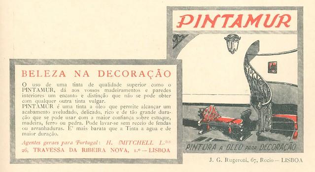 Publicidade antiga | old advertisement | Portugal 1920s