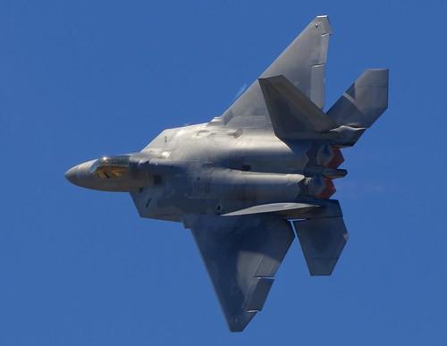 USAF FIFTH GENERATION FIGHTER   F-22 RAPTOR, Davis Monthan AFB (DMA/KDMA) 2019 Airshow
