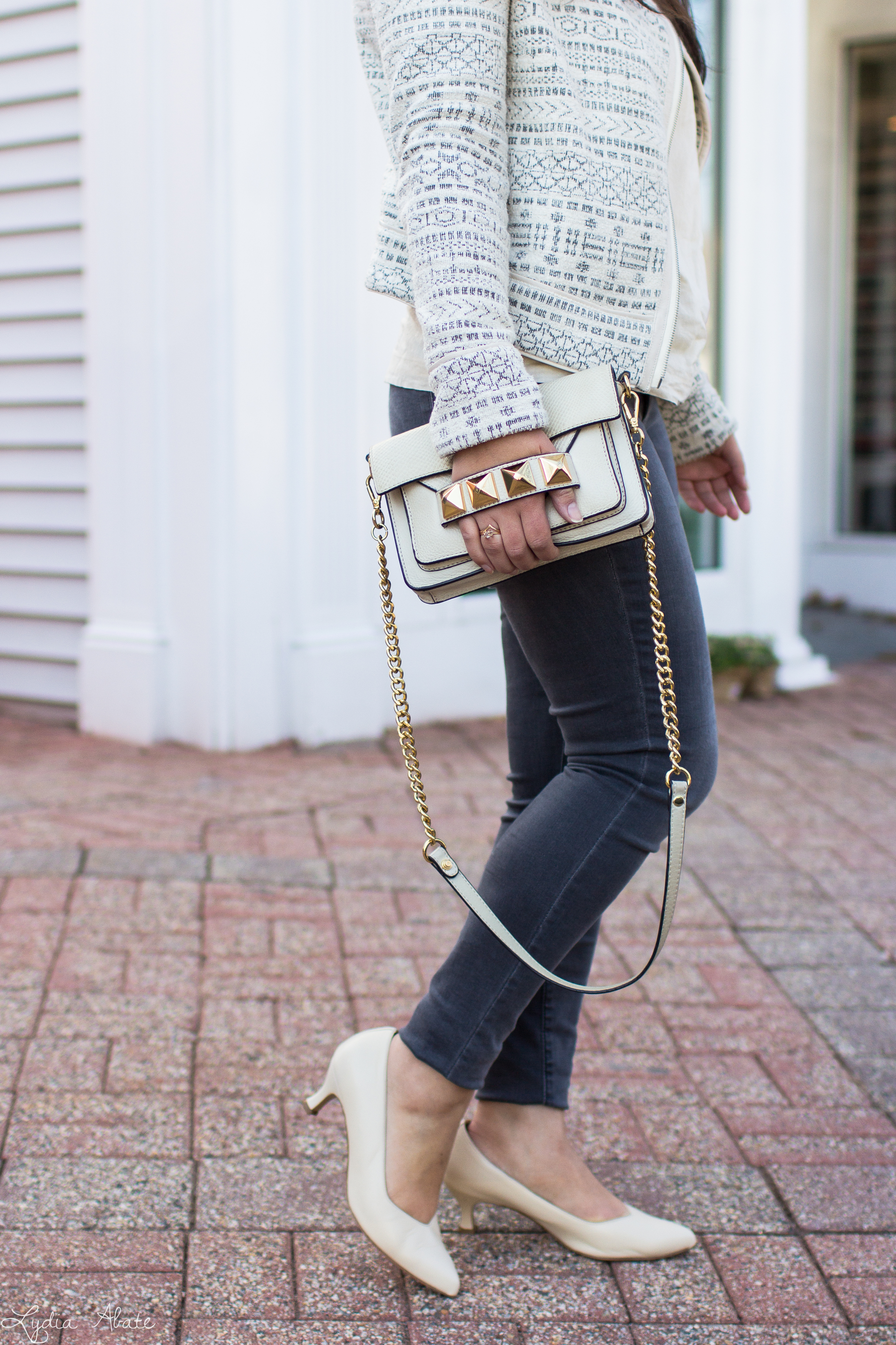 printed jacket, cream blouse, grey jeans, studded bag-9.jpg