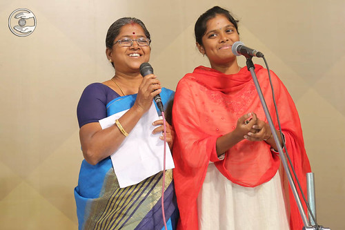 Tamil devotional song by Rajeshwari from Thanjavur
