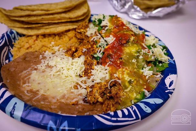 Huevos con Chorizo - La Tapatia Market and Tacos