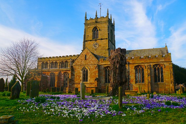 St Lawrence's and spring colours