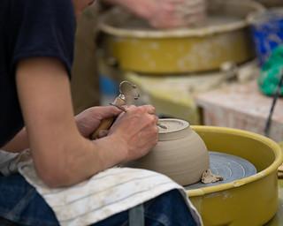 Ceramics Class March 13 2019   by uwoshkosh