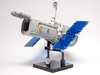 Hubble Space Telescope LEGO Model 1:42 Scale | by LuisPG2015