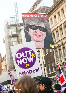 Brexit Day - Demonstrations   by The Burly Photographer