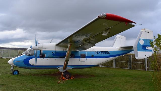 Antonov An.28 c/n 1AJ005-14 registration RA-3560K